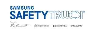 Logo Samsung Safety Truck